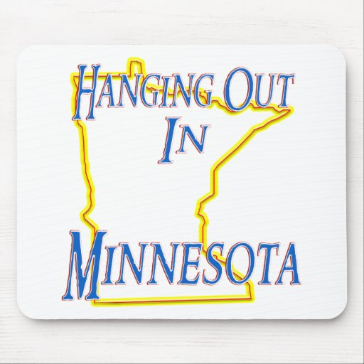 Minnesota - Hanging Out Mouse Pads
