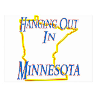 Minnesota - Hanging Out Postcard
