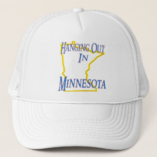 Minnesota - Hanging Out Trucker Hat
