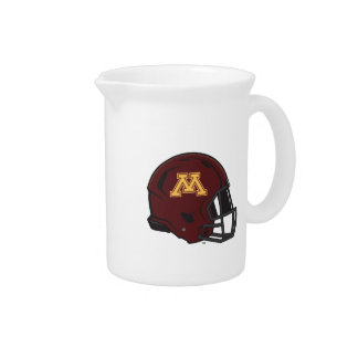 Minnesota Helmet Beverage Pitcher