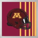 Minnesota Helmet Poster