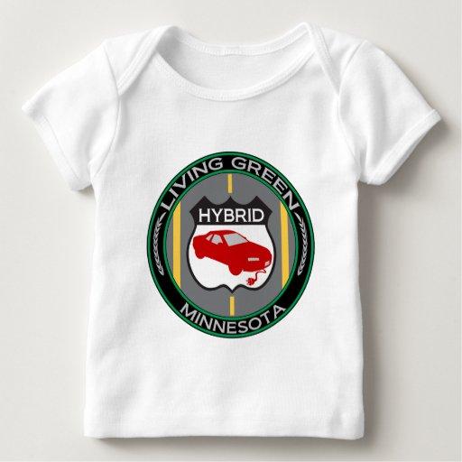 Minnesota híbrido playera de bebé