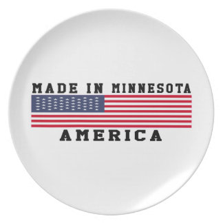 Minnesota hizo en diseños platos para fiestas