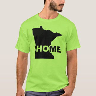 Minnesota Home Away From State T-Shirt Tees