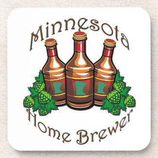 Minnesota Home Brewer Plastic Coaster