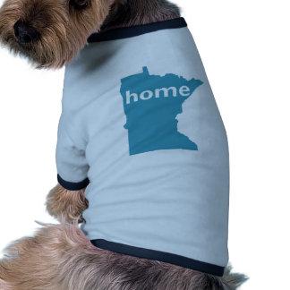 Minnesota Home Doggie Tshirt