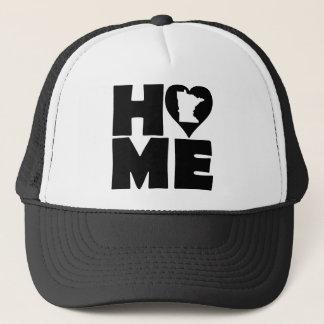 Minnesota Home Heart State Ball Cap Trucker Hat