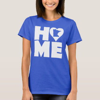 Minnesota Home Heart State Tees T-Shirt