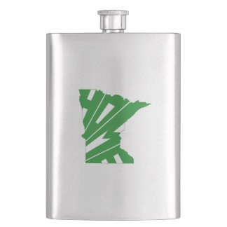 Minnesota Home Hip Flask