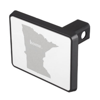 Minnesota home silhouette state map tow hitch covers