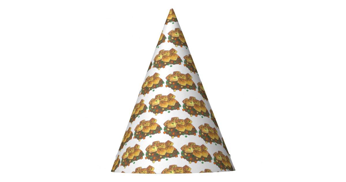 Minnesota Hot Dish Tater Tot Casserole Party Hat | Zazzle.com