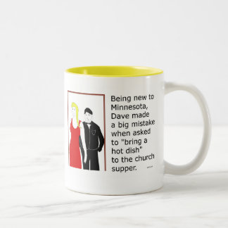 "Minnesota ""Hot Dish""  Two-Tone Coffee Mug"