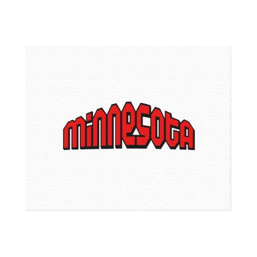 Minnesota Impresiones En Lona