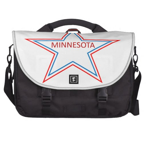 Minnesota in a star. commuter bag