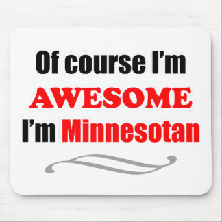 Minnesota Is Awesome Mouse Pad