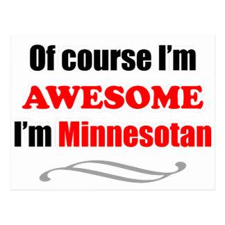 Minnesota Is Awesome Postcard