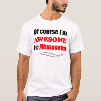 Minnesota Is Awesome T-Shirt