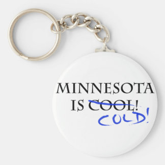 Minnesota is Cool - and Cold! Key Chains