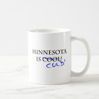Minnesota is Cool - and Cold! Classic White Coffee Mug