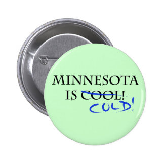 Minnesota is Cool - and Cold! Pin