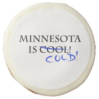 Minnesota is Cool Sugar Cookie