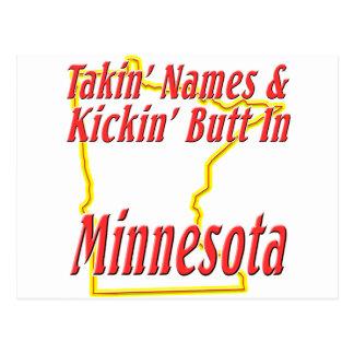 Minnesota - Kickin' Butt Postcard