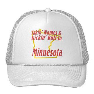 Minnesota - Kickin' Butt Trucker Hat