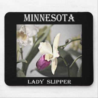 Minnesota Lady Slipper Mouse Pad