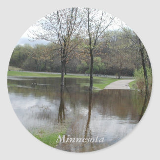 Minnesota Lake Rebecca Stickers by Janz