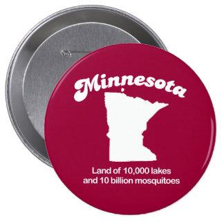 Minnesota - Land of 10,000 lakes T-shirt Button