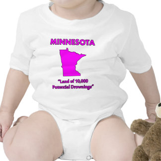 Minnesota - Land of 10,000 Potential Drownings T Shirts
