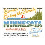 Minnesota - Land of Ten Thousand Lakes Post Cards