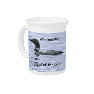 Minnesota Land of the Loon Pitcher