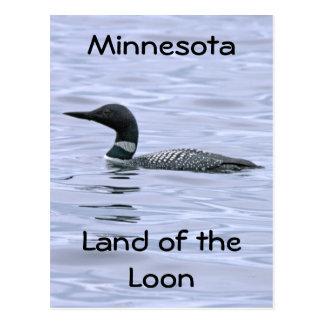 Minnesota land of the Loon Postcard