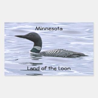 Minnesota Land of the Loon Sticker
