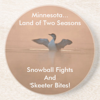Minnesota...Land of Two Seasons Coaster
