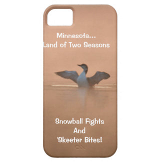 Minnesota...Land of Two Seasons iPhone SE/5/5s Case