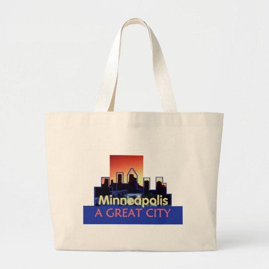 Minnesota Large Tote Bag