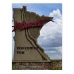 Minnesota le acoge con satisfacción postal