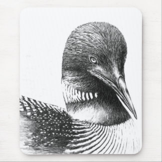 Minnesota Loon By William Martin Mouse Pad