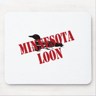 Minnesota Loon Mousepad
