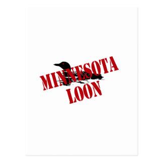 Minnesota Loon Postcard