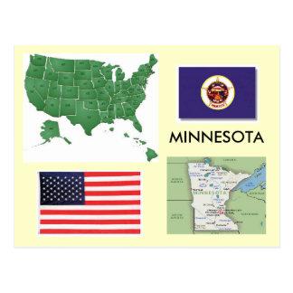 Minnesota, los E.E.U.U. Postales