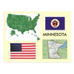 Minnesota, los E.E.U.U. Tarjetas Postales