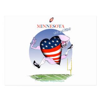 minnesota loud and proud, tony fernandes postcard