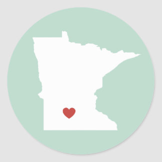 Minnesota Love - Customizable Sticker