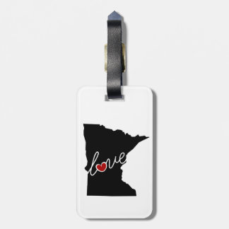 Minnesota Love!  Gifts for MN Lovers Bag Tag