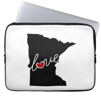 Minnesota Love!  Gifts for MN Lovers Laptop Sleeve