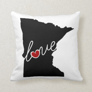Minnesota Love!  Gifts for MN Lovers Pillow