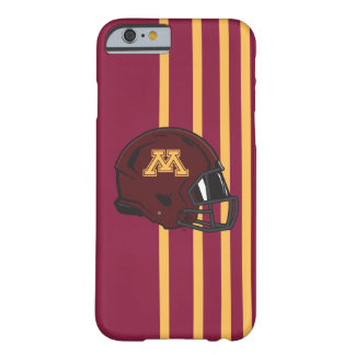 Minnesota M Football Helmet Barely There iPhone 6 Case